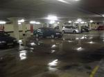 garage onder water